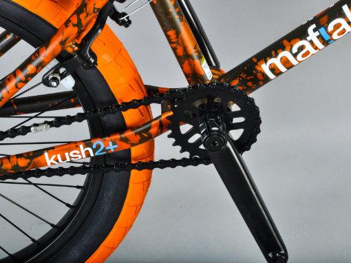 Mafia Bikes 12 Dieu Wheelie siège noir orange